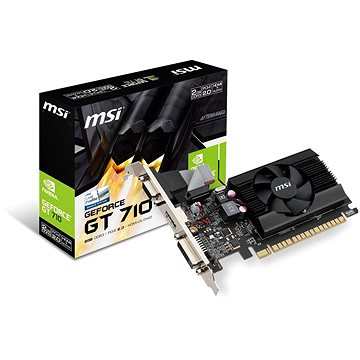 MSI GeForce GT 710 2GD3 LP